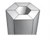 pied-hexagonal